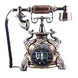 Teléfono creativo decorativo retro LANDLINE HOME RETRO TELÉFONO ANTIGUO TELÉFONO DE MODA DIALERA CREATIVA Teléfono Vintage Rotario para la decoración del hogar Oficina Regalos / Decoraciones / Colecci
