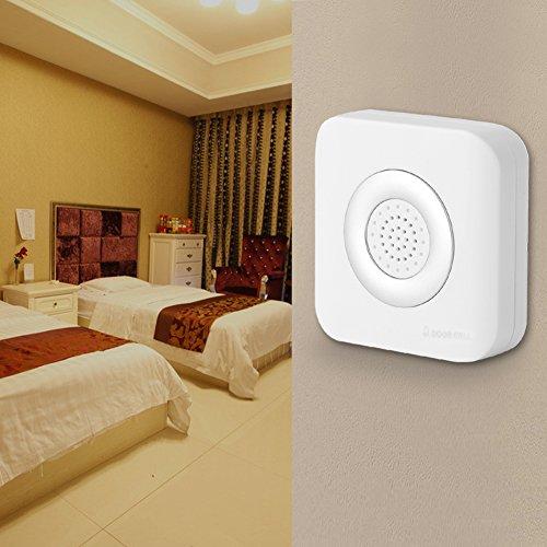 Sistema de alarma de seguridad para el hogar con timbre con cable...
