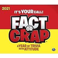 カレンダーインク 2021 Fact or Crap デスクカレンダー