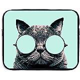 Funda Protectora para computadora portátil Funda Protectora Cat Fuck You Funda Impresa para maletín Funda para 15 Pulgadas