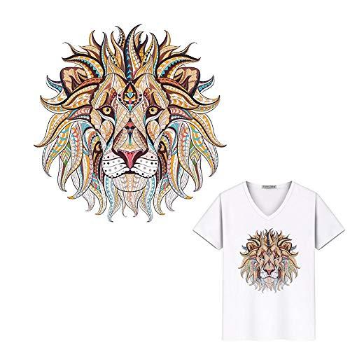 Gravere Parches Cabeza león Calcomanías Transferencia