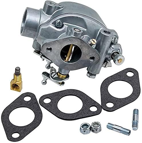 ZW18U Carburador Compatible Carbarrador de carburador Compatible con Ford Jub Ilee Tractor NAA Nab TSX428 TSX580 EAE9510D EAE9510C Piezas de Juntas Accesorios Renovación de carburador