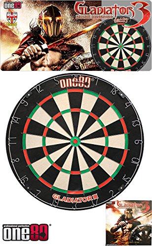 ONE80 Gladiator 3 Dartboard - Dartscheibe