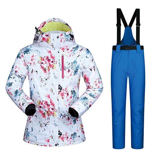 CJCJ-LOVE vrouwen skipak, winter in de vrije natuur snowboard pak, Splash Ink