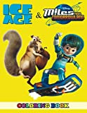 Ice Age & Miles from Tomorrowland Coloring Book: 2 in 1 Coloring Book for Kids and Grown-Ups, This Amazing Coloring Book Will Make Your Kids Happier and Give Them Joy