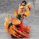Modelo De Personaje Fire Fist Ace Flame Statue Figura De Acc