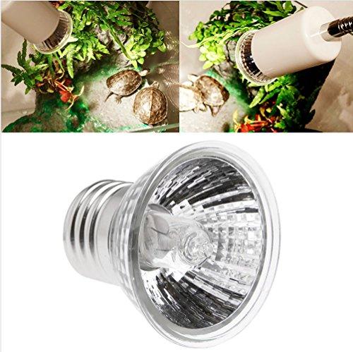 Manman Heating Lamp Full Spectrum Sunlamps Basking Pet,25W/75W Uva Uvb Reptile Tortoise Heating Lamp Full Spectrum Sunlamps Basking Pet