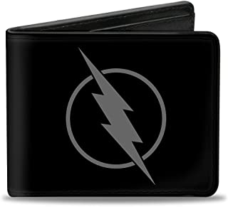 Mens Leather Bi-Fold Wallet w// Chevy Chevelle Emblem Image *Great Gift*