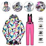 Chaqueta para Mujeres para Deportes Esquí Invierno Abrigo Impermeable Chaqueta de...
