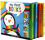 My First Board Books (4-Book Set) (Padded Covers)