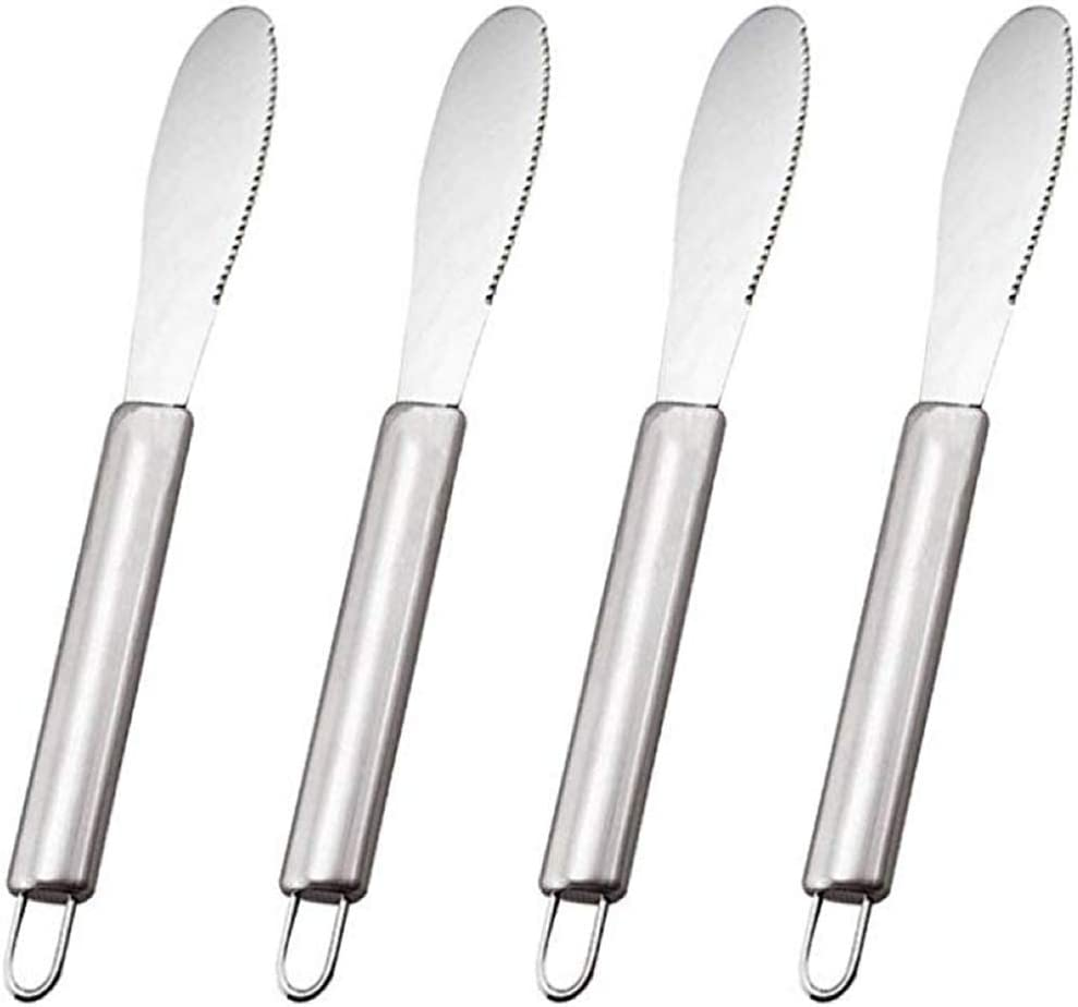 IETONE 4 New item Pack Butter Spreader Cream Knives Wide Sandwich Max 84% OFF Cheese