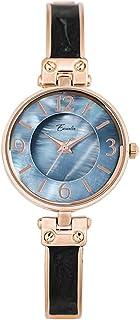 ساعة كوارتز شل الملمس بسيط مزاجه للماء السيدات سوار ساعة طالب أزياء رقيقة حزام الكوارتز