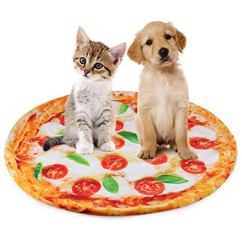 Idepet Haustiere Flanelldecke,Warme Hundematte Weiche Tragbare Haustierbett Haussofamatten für Welpen und kleine Hunde Kätzchen Katzen