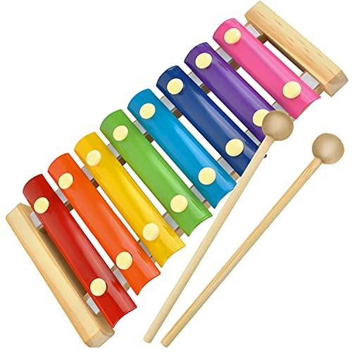 ISO TRADE Kinder Xylophon Glockenspiel...