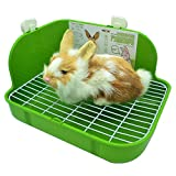 RUBYHOME Rabbit Litter Box Toilet,...