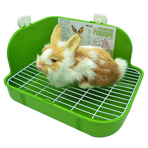 RUBYHOME Rabbit Litter Box Toilet