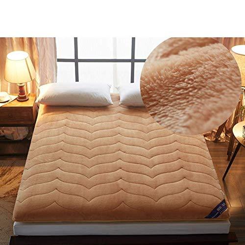 HEWEI Baby deken tatami matras draagbaar comfort matras op de begane grond opvouwbare mat lui bed voor de slaapkamer in de slaapzaal (kleur: D grootte: 120 x 200 cm (47 x 79 inch))