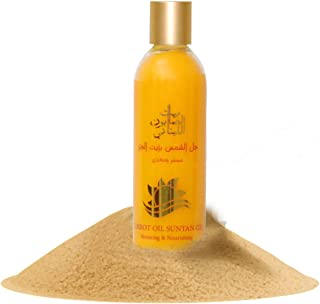 Bayt Al Saboun Al Loubnani Suntan Jelly Oil With Carrot, 250 Ml