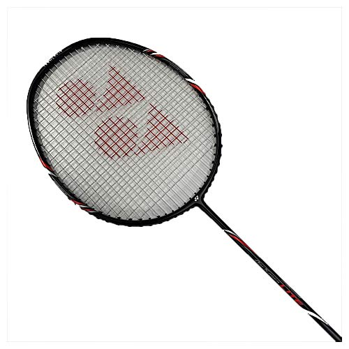 Yonex Arcsaber Lite Badmintonschläger, Schwarz, 4U5 (besaitet)