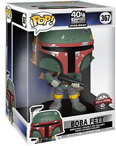 Star Wars Figura Vinilo 40th Anniversary - Boba Fett 367 (Life Size) Unisex ¡Funko Pop! Standard