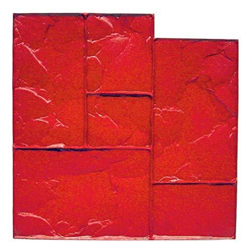 Bon Tool 12-875 Floppy Mat - Ashlar Red - 24' X 24'