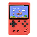 YuanWen Handheld Game Console Built-in 400 Classic Games Mini TV Game Box Retro Red