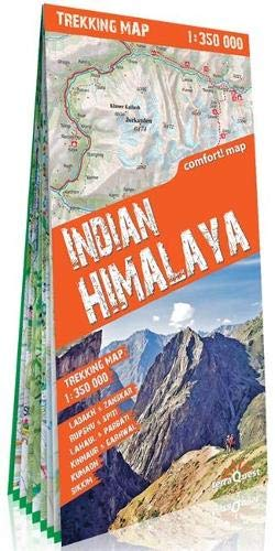 Indian Himalaya 1 : 350 000: terraQuest (trekking map)