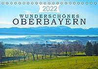 Wunderschoenes Oberbayern (Tischkalender 2022 DIN A5 quer): Vielfaeltige Eindruecke der oberbayrischen Landschaft. (Monatskalender, 14 Seiten )