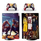 PS5 Skin for Console and Controllers Vinyl Sticker Same Decal Quality for Cars, Kobe James Jordan,, Durable, Scratch Resistant, Bubble-free, Compatible with PlayStation 5 Digital Edition