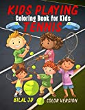 Tennis Coloring Book for Kids (Tennis Coloring Books)