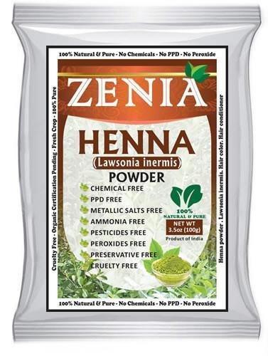 grams Zenia Henna Powder Color