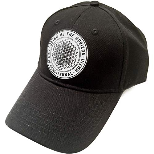 Bring Me The Horizon Sempiternal Official Mens Black Baseball Cap Hat One Size