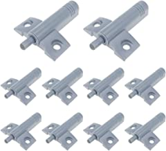 Door Cabinet Soft Closer Damper Buffer 64mm Length ABS Plastic White 10 Pack with Screws by MGKOK