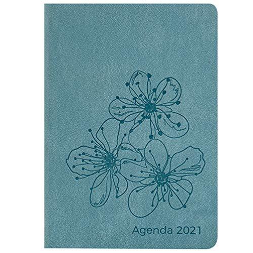 PRETYZOOM A5 Agenda Notitieboek 2020 Perzik Bloem Bedrukt Omslag Planner Notitieboekje Schrijfschema Boek Persoonlijke Organisator Voor Kantoor School Thuis
