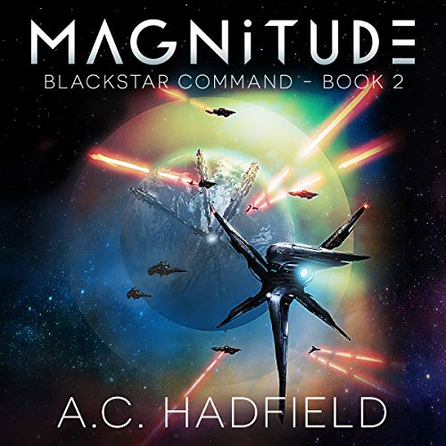 Magnitude audiobook cover art