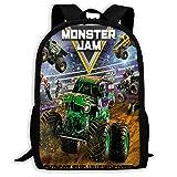 Kid's Schoolbag Truck_Grave Backpack Schoolbags Water Resistant College Student Rucksack