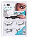 Ardell Deluxe Pack 110 Black - Lote de pestañas postizas, 2 pares