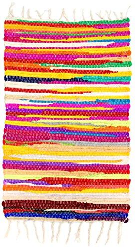 Morgenland Kelim Tapis SUNNY 90 x 50 cm Kilim tissé à la main laine vierge