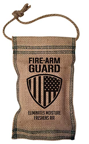 Firearm Guard Dehumidifier Pouch- US Flag Design, Natural