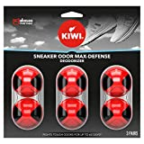 KIWI Sneaker and Shoe Deodorizer | For Shoes, Sneakers, Leather and More | Max...