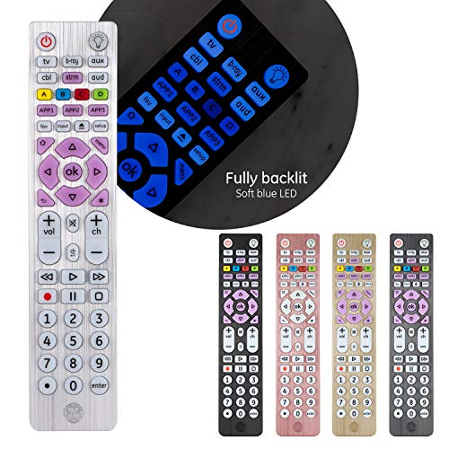 GE Backlit Universal Remote Control for Samsung, Vizio, Lg, Sony,...