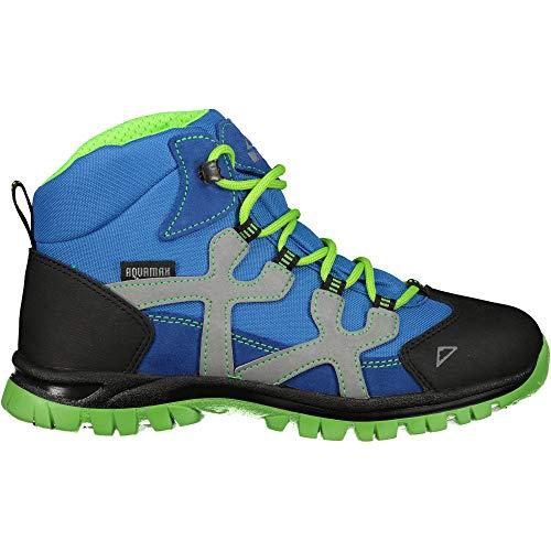 McKINLEY Unisex-Kinder Santiago Pro Aquamax Trekking- & Wanderstiefel, Grün (Green Lime/Blue Dark 906), 36 EU