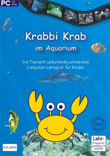 Krabbi Krab im Aquarium, 1 CD-ROM Die Tierwelt selbständig entdecken. Computer-Lernspiel für Kinder. Für Windows 98SE/ME/XP