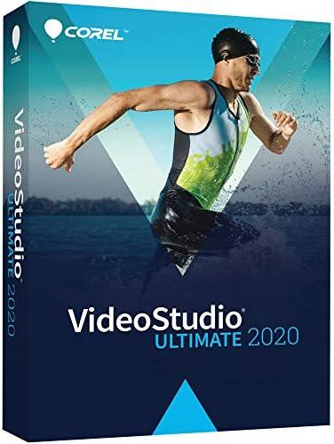 Corel VideoStudio Ultimate 2020 Video Movie Editing Software Slideshow Maker Screen Recorder product image
