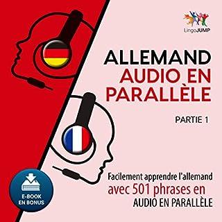 Couverture de Allemand audio en parallèle - Facilement apprendre l'allemand avec 501 phrases en audio en parallèle [French Edition]