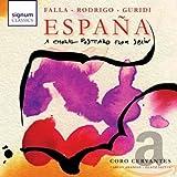 Espana : une Carte Postale en Forme de Chorale de l'Espagne