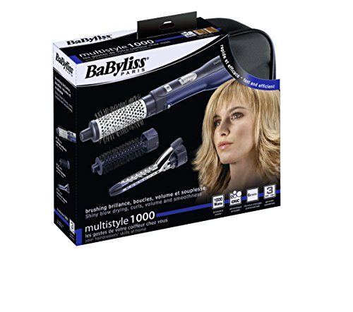 BaByliss AS100E Multistyle 1000, Spazzola ad Aria Calda...