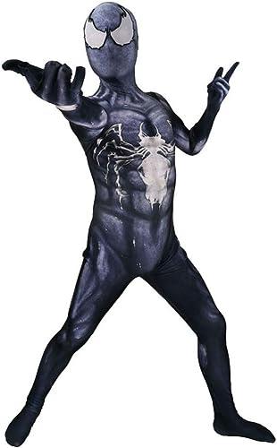conveniente BLOIBFS BLOIBFS BLOIBFS Venom Spiderman Disfraz Disfraz De Halloween Cosplay Stretch Leotard Movie Party Props Niños Adultos Traje Spiderman,Men-M  Ahorre hasta un 70% de descuento.