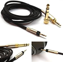 NewFantasia Replacement Audio Upgrade Cable for Sennheiser HD598 / HD558 / HD518 / HD598 Cs / HD599 / HD569 / HD579 Headphones, 1.2m/4feet