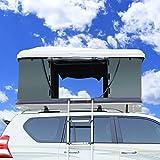 faszfsaf tenda posteriore auto portatile impermeabile tenda campeggio esterna tenda campeggio esterni tenda rimorchio tetto spiaggia,white shell army green